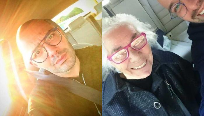 mann og eldre dame